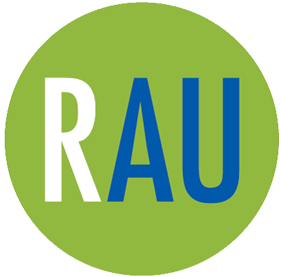 RAU-logo ja linkki yrityskorttiin